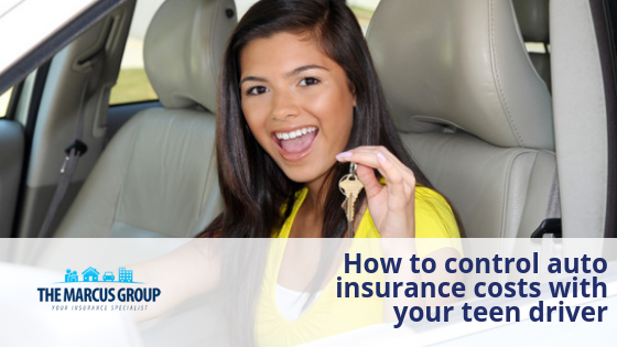How to control auto insurance costs with your teen driver